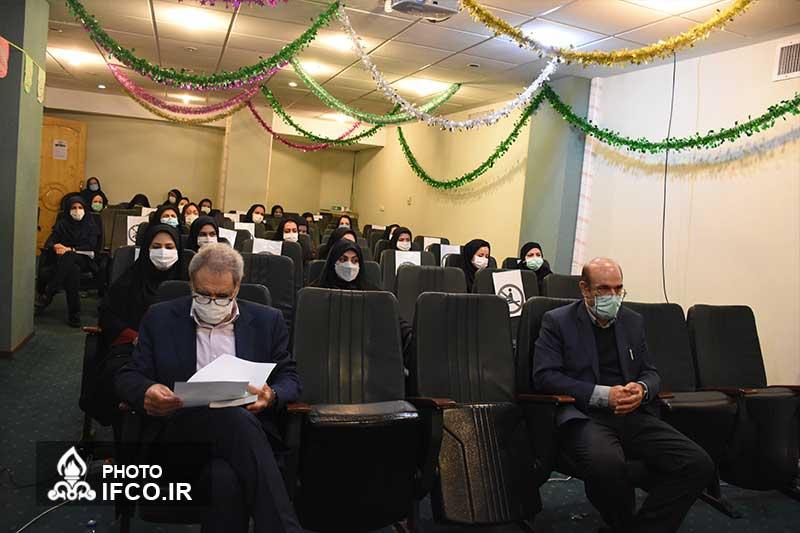 دیدار دکتر علی مبینی دهکردی با بانوان شرکت بهینه سازی به مناسبت بزرگداشت روز زن