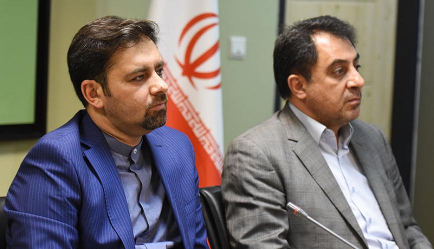 فیلم / نشست مشترک مدیران عامل شرکت بهینه سازی و مترو تهران